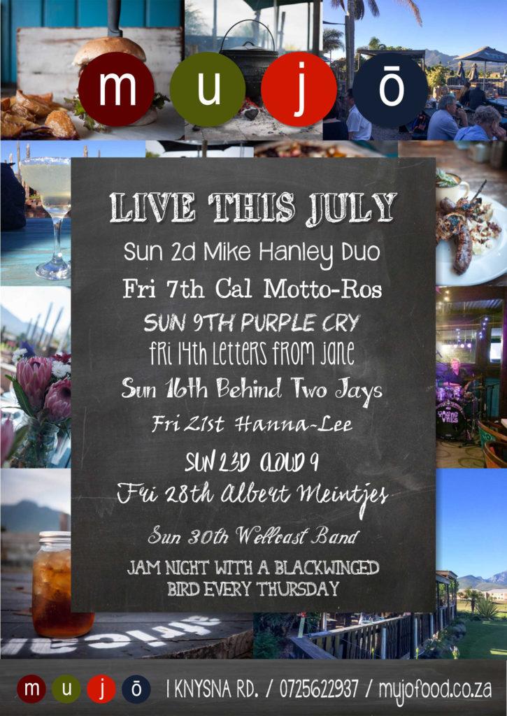 July music lineup