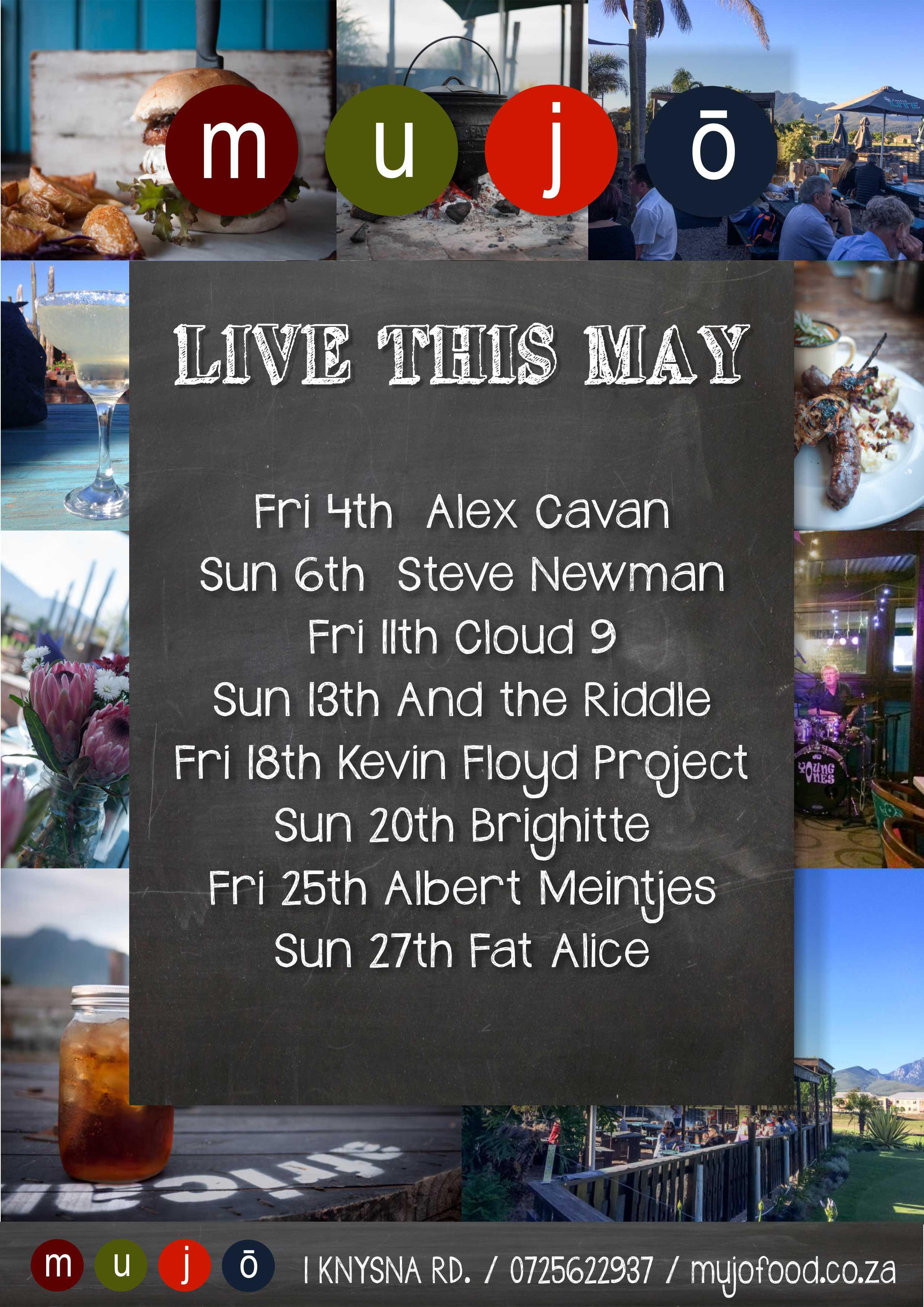 May'18 lineup