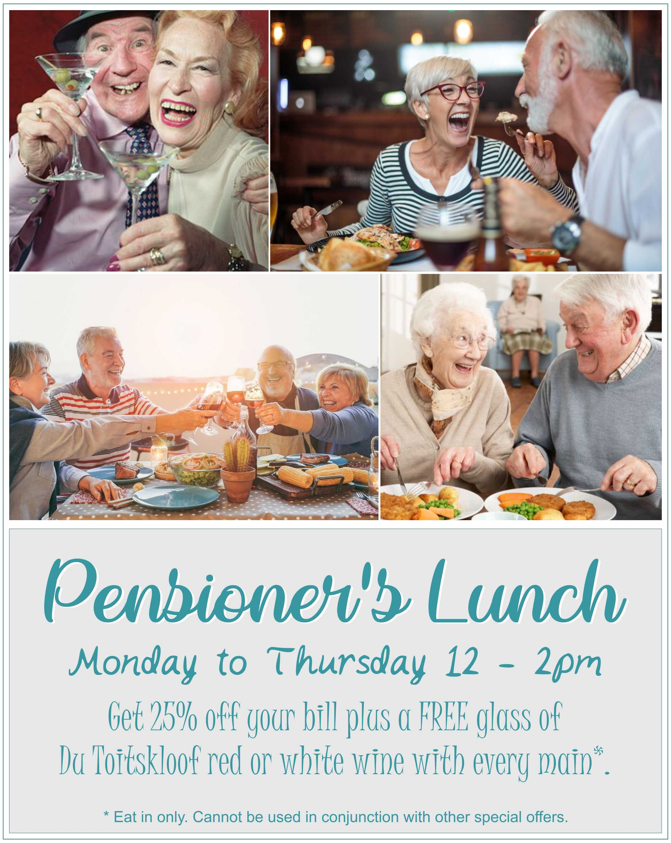 Pensioner's Lunch